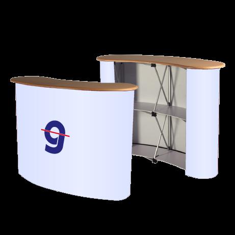 Promotion- und Messetheke Pop-Up Counter