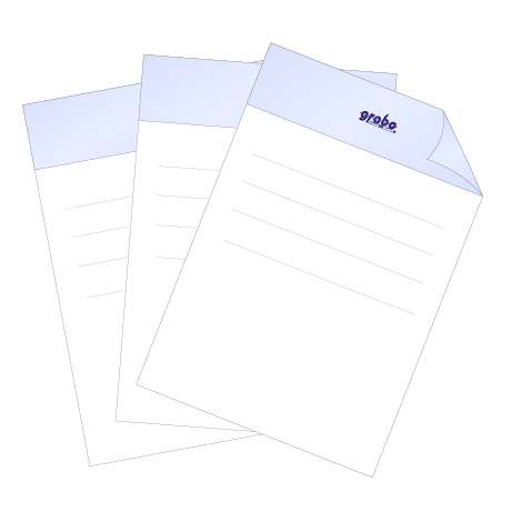 Briefpapier HKS   DIN A3 beidseitig   1/1-farbig