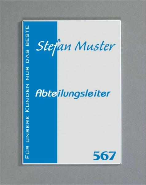 Wandschild   System Karlsruhe   DIN A6 hoch